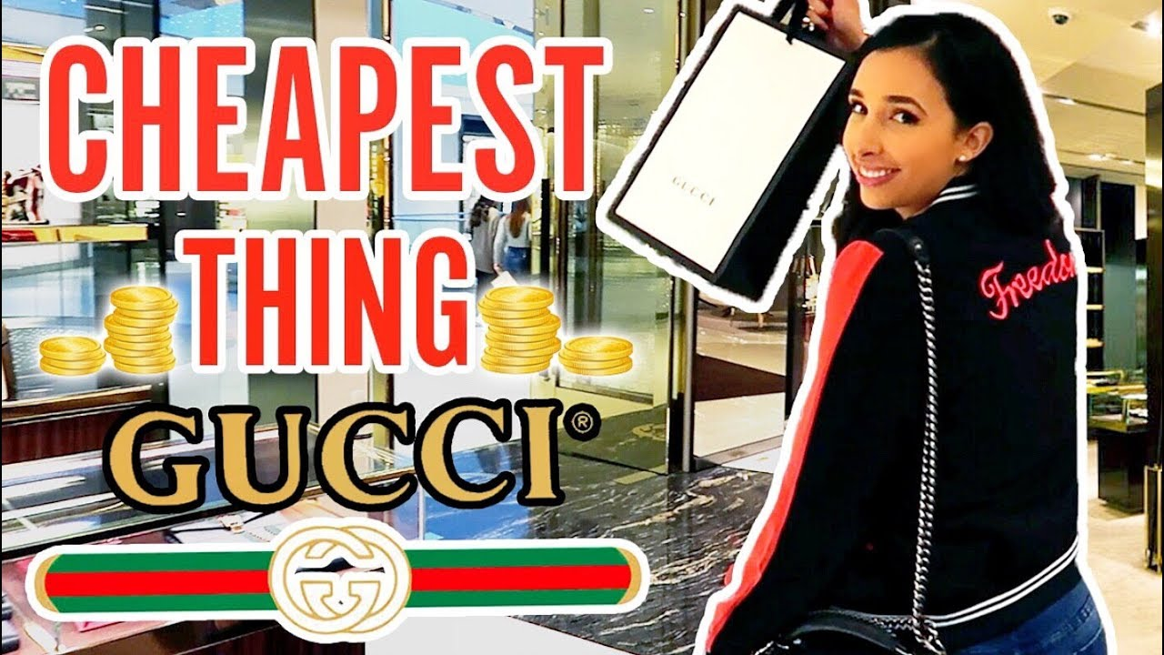 I BUY THE CHEAPEST THING ON GUCCI – And Filmed It With Hidden Camera 📷 | Mariale