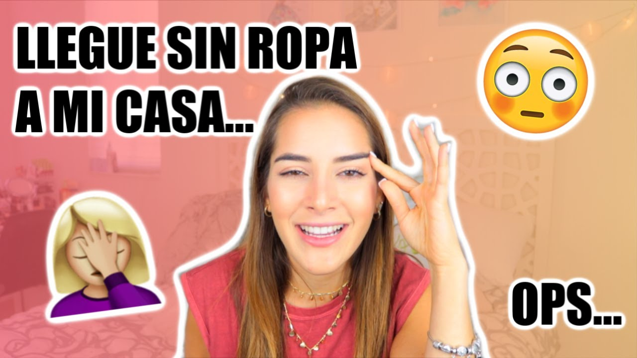 LLEGUE SIN ROPA A MI CASA STORYTIME | Sincerely Mvu